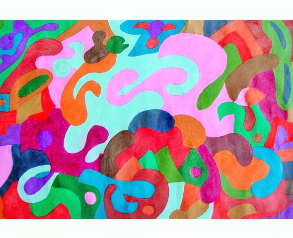 Layla Simic Art Colorful Art For Home And Office